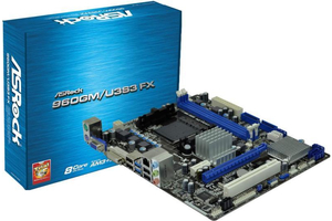 ASROCK 960GM/U3S3FX alaplap AM3+ DDR3