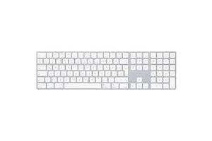 Apple Magic Keyboard numpaddal - HU - Ezüst