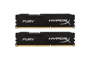 16GB 2133MHz Kingston DDRIV HyperX Fury Black Kit
