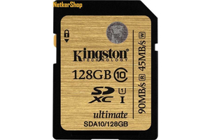 Kingston 128GB SDA10 Ultimate SDXC UHS-I CL10