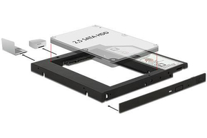 Mobilerack Notebookba SATA HDD-hez 9,5mm Orico