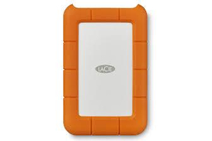 LaCie Rugged 1TB USB 3.0 Mini narancs