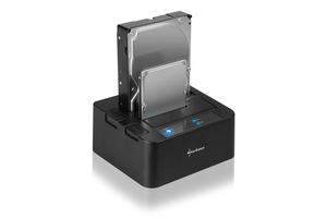 Sharkoon QuickPort Duo USB3.0 V2 - Külső HDD Dokk