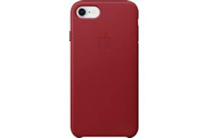 Apple iPhone 8/7 bőrtok (PRODUCT)RED /mqha2zm/a