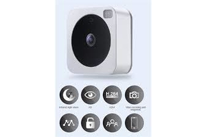 Vuebell IP Cloud video kaputelefon, wifi, 1MP